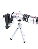 Obiettivi della macchina fotografica dello smartphone di optrix exolens 165 obiettivo obiettivo grandangolare 3x obiettivo focale lungo