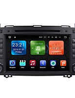 android 7.1.2 carro dvd player sistema multimídia 8 polegadas quad core wifi ex-3g dab para mercedes benz a / b classe w169 w245 b200