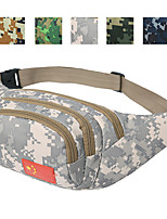 10 L Chest Bag Waist Bag/Waistpack Cycling Hiking Jogging Travel Wearable Cloth