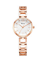 Women's Fashion Watch Quartz Water Resistant / Water Proof Alloy Band Sparkle Silver Rose Gold