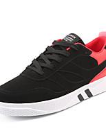 Da uomo Scarpe Finta pelle Primavera Autunno Comoda Sneakers Più materiali Per Casual Nero Grigio Bianco/nero Nero/Rosso