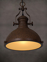 Industrial Chandeliers Wind Engineering Nostalgic Loft Restaurant Cafe Bar Counter Single Head Droplight Of Creative Wrought Iron Rust Color Restorin