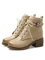 Feminino Sapatos Courino Outono Inverno Coturnos Botas Para Casual Social Preto Bege Cinzento Verde Tropa