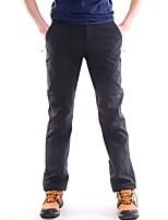 Per uomo Pantaloni da escursione Antivento Anti-pioggia Indossabile Traspirabilità Elastico Pantalone/Sovrapantaloni per Sci Caccia