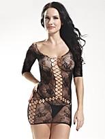 Ultra Sexy Body Vêtement de nuit Femme,Sexy Solide Spandex