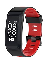 yy f4 femme femme bracelet intelligent sang oxygène / pression sanguine / fréquence cardiaque / calorie / élévation / pression / temps