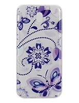 For Case Cover Transparent Pattern Back Cover Case Mandala Butterfly Soft TPU for Samsung Galaxy J7 (2017) J5 (2016) J5 (2017) J3 J3