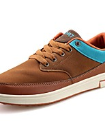 Men's Shoes Suede Spring Fall Comfort Sneakers Lace-up For Casual Outdoor Blue Brown Gray