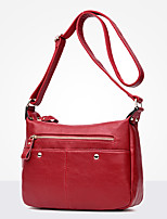 Women Bags All Seasons PU Shoulder Bag Zipper for Casual Office & Career Blue Black Purple Wine