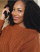 Curly Braids Hair Braid Curly Weave Crochet Curly Ombre Braiding Hair Man Weave Toyokalon Hair Medium Brown Black/Burgundy Black/Medium
