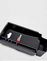 Front Armrest Storage Box Car Organizers For Audi 2012 2013 2014 2015 2016 2017 Q3 Plastic