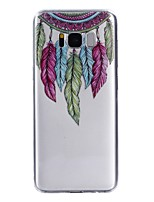 Case For Samsung Galaxy S8 Plus S8 Transparent Pattern Back Cover Dream Catcher Feathers Soft TPU for S8 S8 Plus S7 edge S7 S5