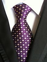 Men's Polyster Neck Tie,Dots Dots All Seasons