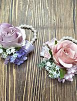 Fleurs de mariage Petit bouquet de fleurs au poignet Cérémonie de mariage 3.94