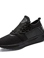 Homme Chaussures Tulle Automne Hiver Confort Semelles Légères Basket Lacet Pour Athlétique Décontracté Noir Gris Rouge Noir/blanc