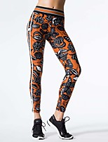 Women's Medium Stitching Print Legging,Print
