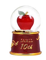 Balls Music Box Toys Cylindrical Glass EVA Resin Pieces Unisex Birthday Valentine's Day Gift