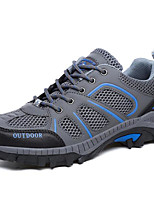 Hiking Shoes Running Shoes Mountaineer Shoes Men's Women's Anti-Slip Wearable Breathability Leisure Sports Real Leather Tulle Rubber
