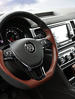 Automotive Steering Wheel Covers(Leather)For Volkswagen All years Teramont