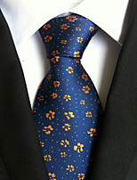 Men's Polyster Neck Tie,Dots Print All Seasons