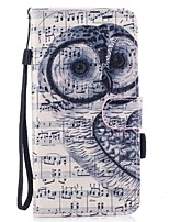 For Case Cover Card Holder Wallet with Stand Flip Magnetic Pattern Full Body Case Owl Hard PU Leather for Samsung Galaxy S8 Plus S8