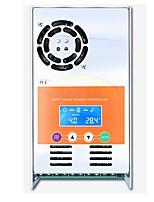 mppt 30a regolatore di carica e scarico solare 12v 24v 36v 48v auto per max 190vdc ingresso ventilato sigillato gel nicd li