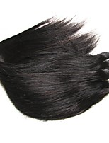 Natural Color Hair Weaves Brazilian Texture Straight hair weaves