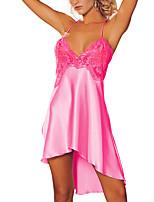 Ultra Sexy Vêtement de nuit Femme,Sexy Solide Spandex