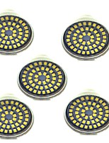 3W GU10 LED Spotlight 48 leds SMD 2835 Decorative Warm White Cold White 500lm 3000-7000K AC 12V