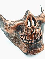 schädel skeleton airsoft paintball halbe gesicht schutzausrüstung maske schutz halloween maskerade cosplay party kostüm prop