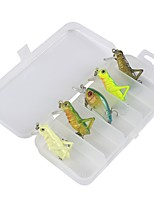 5 pc Kit da pesca Confezioni di esche g/Oncia mm/1-9/16
