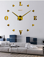 Modern/Contemporary Country Casual Office/Business Others Romance Fashion Wall Clock,2
