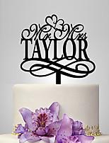 Decorazioni torte Matrimonio Classico Matrimonio Borsa plexiglas
