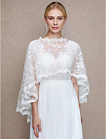 Women's Wrap Capes Lace Wedding Party/ Evening Lace