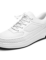 Men's Shoes Breathable Mesh Winter Comfort Sneakers Lace-up For Casual Gray Black White