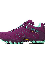 Running Shoes Mountaineer Shoes Women's Anti-Slip Rain-Proof Wearable Breathability Leisure Sports Low-Top Suede Latex Rubber Hiking