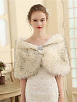 Women's Wrap Capelets Faux Fur Wedding Party/ Evening Fur