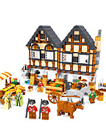 Building Blocks Toys House Animal Pieces Not Specified Gift