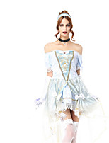 Princess Queen Fairytale Cosplay Costumes Adults' Halloween Festival/Holiday Halloween Costumes Fashion Vintage