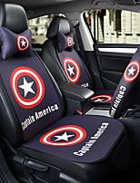 captain america автомобильное сиденье подушка сиденья чехол сиденье четыре сезона общий окружен подголовник с пятью сиденьями с двумя
