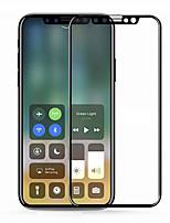 abordables -Vidrio Templado Protector de pantalla para Apple iPhone X Protector de Pantalla Frontal Alta definición (HD) Dureza 9H Anti-Huellas Borde