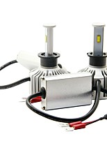 joyshine 80w 7200lm x7-h3 led фары автомобиля фары привели фары лампы ampper ультра яркий дуги стиль луч холодный белый (2 шт)