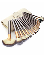 18pcs Makeup Brush Set Pony Synthetic Hair