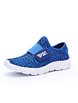 Girls' Shoes Knit Summer Fall Comfort Light Soles Athletic Shoes Running Shoes With Hook & Loop For Athletic Casual Blushing Pink Blue