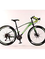 Cruiser Bike Cycling 27 Speed 26 Inch/700CC TX30 Disc Brake Non-Damping Aluminium Alloy Frame Anti-slip Aluminium Alloy Aluminum Alloy