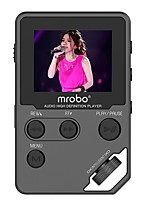 Hi-FiPlayer8GB Jack da 3,5 mm Scheda TF 32GBdigital music playerPulsante