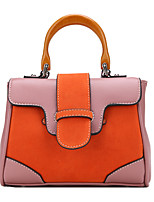 Women Bags All Seasons PU Tote Zipper for Casual Outdoor Blue Red Light Green Brown