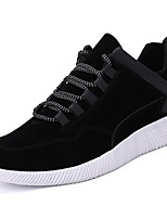 Homme Chaussures Polyuréthane Automne Hiver Confort Basket Marche Lacet Pour Décontracté Noir Gris Marron
