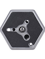 Andoer 1/4 Tripod Monopod Hexagonal Quick Release Mounting Plate Replacement for 3038/3039/3047/3055 for 029/229/RCO QR System