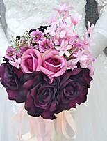 Wedding Flowers Bouquets Wedding Polyester 7.87